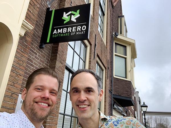 Oprichters Ambrero gaan 'met de billen bloot'